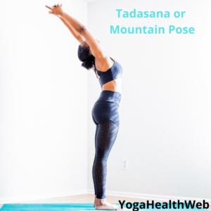 Tadasana or Mountain Pose