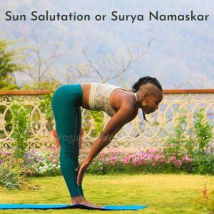 Sun Salutation or Surya Namaskar